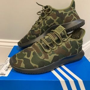 Camouflage Adidas shoes